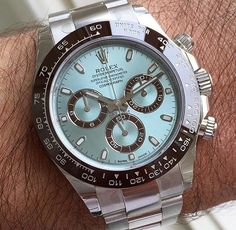 Rolex Daytona in platinum