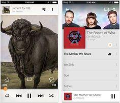 Google Play Music iOS incorpora característica Voy a Tener Suerte de la Radio