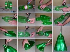 Recycled Bottle Broomstick