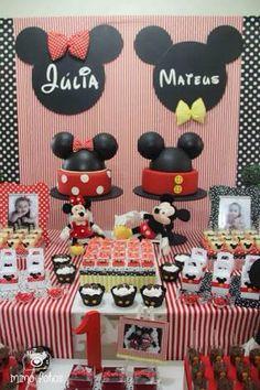 Festa Mikey e Minnie