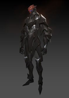 Artstation - the armed-material test, hui zou character conc Fantasy Armor, Fantasy Weapons, Dark Fantasy Art, Robot Concept Art, Armor Concept, Character Concept, Character Art, Rpg Star Wars, Futuristic Armour
