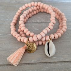 Ibiza Bracelets Light Peach - Mint15 | www.mint15.com