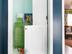 How to Make a DIY Interior Dutch Door... I wonder what my landlord would say???