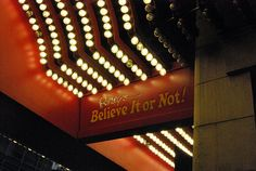 Visit: Ripley's Believe It Or Not! {Times Square, New York City}