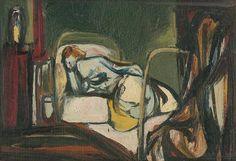 Vincent Hložník (1919 – 1997) Posteľ I, 1947