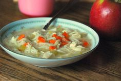Lunchbox Chicken Noodle Soup