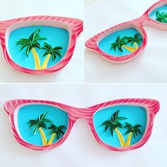 quilling sunglasses