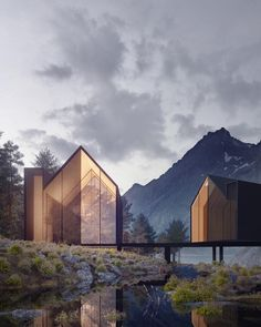 "28.3k Likes, 86 Comments - ARCHITECTURE HUNTER (@architecture_hunter) on Instagram: ""#architecture_hunter Black House Architect: Alex Nerovnya @alex_nerovnya Make sure to follow…"""