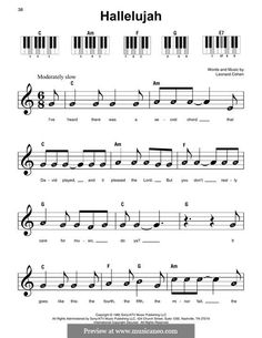 Beginner Hallelujah Easy Sheet Music with Letters 50 Hallelujah Sheet Music Leonard Cohen Piano Sheet Music Letters, Easy Sheet Music, Clarinet Sheet Music, Easy Piano Sheet Music, Music Chords, Violin Music, Song Sheet, Music Music, Beginner Violin Sheet Music