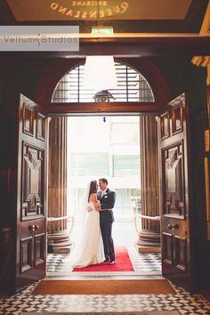 www.vellumstudios.com.au Brisbane Wedding Photographer Wedding Images, Wedding Tips, Wedding Ceremony, Reception, Customs House, Wedding Locations, Engagement Pictures, Brisbane, Groom
