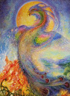 """The Phoenix 1"" par Josephine Wall"