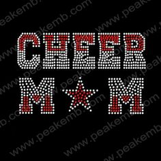 Bling Cheer Mom Rhinestone Design T-Shirts Wholesale 30Pcs/Lot Rhinestone Live Love Dance Bling Apparel Designs Iron Transfers Wholesale