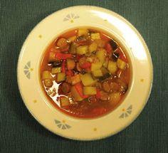 Biscotista pottuvoihin: Chorizo-perunapata Chorizo, Chili, Soup, Beef, Meat, Chile, Chilis, Soups, Ox