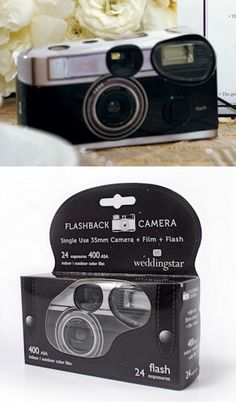 Vintage Design Single Use Camera from Wedding Favors Unlimited