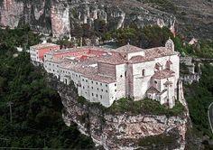 Cuenca's Parador, the old monastery of San Pablo, Cuenca, Castilla la Mancha - Spain Best Beaches In Portugal, Portugal Vacation, Hotels Portugal, Places In Portugal, Places In Spain, Visit Portugal, Spain And Portugal, Portugal Travel, Spain Travel