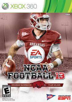 Arkansas Razorbacks Football, Fifth Generation, Ea Sports, Alma Mater, Xbox 360, Box Art, Football Helmets, Microsoft, Video Game