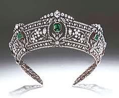 The Harcourt Tiara- a magnificent tiara worn at the coronation of both King…