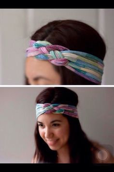 Make A Headband With Old T-shirt  #Fashion #Trusper #Tip