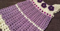 Dress size - 74 cm /9 month yarn - cotton Hook 3,5 mm  Abbreviations st(s) - stitch (es) ch - chain sl st - slip stitch...