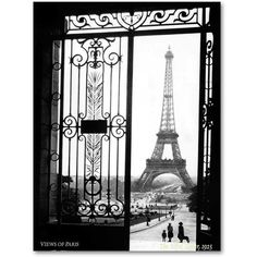 Views of Paris Canvas Wall Art by Sally Gall (€86) ❤ liked on Polyvore featuring home, home decor, wall art, backgrounds, black, paris wall art, black white wall art, black white home decor, black wall art and parisian home decor