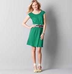 I cannot wait til this arrives! Petite Shirred Neck Peasant Dress