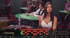 Feel the atmosphere of a real casino! Play live dealer roulette.
