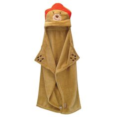 The Paddington Bear by Trend Lab Character Hooded Blanket is suitable for any child. Snuggle up and make believe you are Paddington Bear with this comfy and cozy blanket. The fun warm hood and mitts let you wrap yourself up to become the very rare sort of bear. This 30 in x 40 in comfy blanket is made from polyester fleece and is machine washable for easy care. It is the perfect gift for those who love Paddington Bear! <br>Coordinating Paddington Bear crib bedding, room accessories and ...