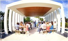 wedding at the gazebo |finest playa mujeres wedding photos | cancun wedding