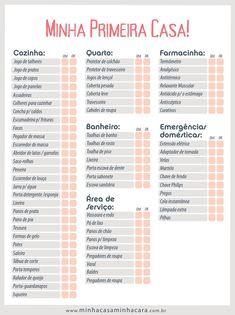 Lista de Chá de Casa Nova – As 30 Ideias Mais Completas para Imprimir! D House, Open House, Studio Mcgee, Studio Loft, Marketing Trends, Planners, Home Alone, Home Hacks, First Home