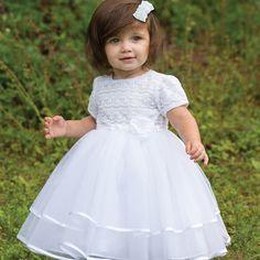 Sarah Louise Ceremonial Ballerina Length Dress 70015
