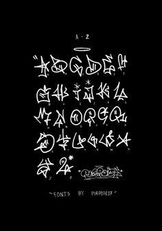 Graffiti Lettering Alphabet, Graffiti Writing, Tattoo Lettering Fonts, Graffiti Font, Graffiti Tagging, Graffiti Designs, Letras Tattoo, Graffiti Doodles, Graffiti Characters