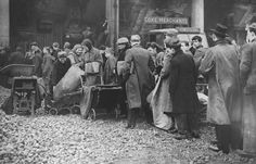 After World War II, Britain saw widespread shortages and rationing. PHOTO: People queuing for coal . Manhattan Project, Cold War, World War Two, Wwii, Fiction, Novels, Memories, History, Historia