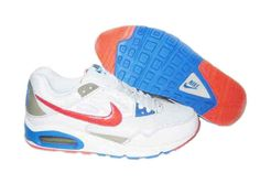 new product ee8fc c1d3a Danmark Billige Nike Air Max Skyline Running Trainers Mænd -  WhiteOrangeBlu