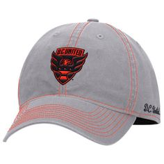 890d1e0970e Women s D.C. United adidas Gray Fashion Tone Slouch Adjustable Hat
