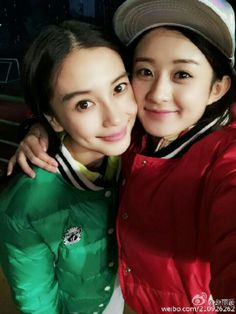 62be801efcf0 Zhao li ying and angelababy