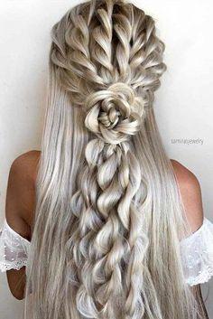 Ideas Of Half Up Half Down Wedding Hairstyles ★