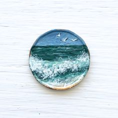 Seascape Paintings, Landscape Paintings, Canadian Penny, My Arts, Pennies, Artist, Accessories, Instagram, Artists