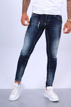 Jean Pas Cher, Men Street Look, Mannequin, Skinny Jeans, Mens Fashion, T Shirt, Pants, Style, Blue
