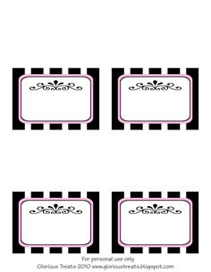Image Detail for - Glorious Treats: {Free Printable} French Party Labels American Girl Parties, Printable Lables, Party Printables, Free Printables, Printable Paper, Paris Birthday Parties, Birthday Party Themes, Spa Birthday, 10 Years