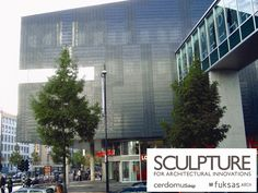 Sculpture by Cerdomus - designed by Massimiliano Fuksas Arch. -