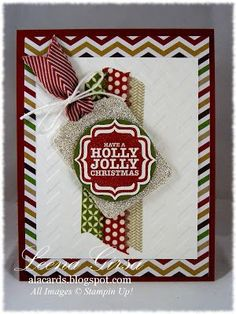 A La Cards: Featuring the Tags 4 You stamp set, Season of Style Washi Tape and DSP from Stampin Up!