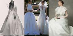 Royal Treatment - From Left:Elie Saab;Vera Wang Bride;Angel Sanchez
