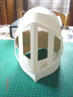 Modèle pour atelier casque de chevalier école