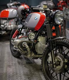 Bobber Bikes, Bmw Motorcycles, Bmw R75, Scooters, R Cafe, Bmw Design, Bmw Scrambler, Bmw Boxer, Cafe Racing
