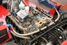 Alfa Romeo 3.0 litre flat 12 cylinder as used in Brabham BT-45 Formula1 race car