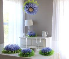 Paper Flower Pom