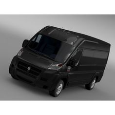 Ram Promaster Cargo 3500 HR 159WB EXT 2015 - 3D Car for Maya