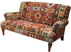 Amazing Istanbul Kilim Sofa. Upholstery ...