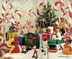 Storybook Christmas Party Ideas 1969
