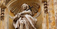 sculpture. Chiesa di Santa Maria Maddalena, Rome